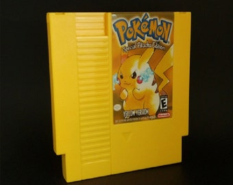 Pokemon Yellow NES English Edition free shipping