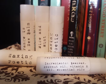 Literary Lip Balm