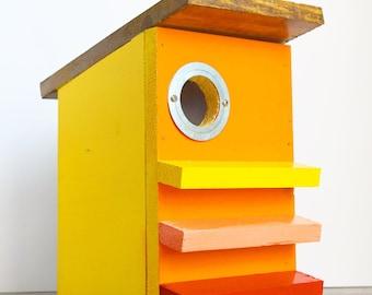 Midcentury Modern Birdhouse TBB#14 Model