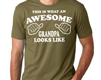 Grandfather T-Shirt Gift For Grandfather Grandpa Granddad Pap Grandpappy Tee Shirt