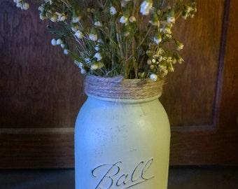 Painted ball jar