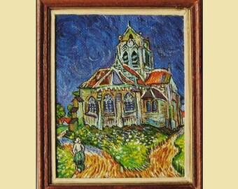 The Church of Auvers. Van Gogh