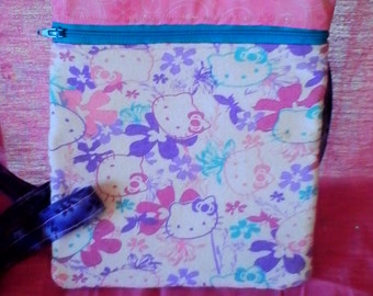 Hello Kitty over the shoulder purse, pouch, bag