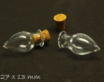 2 PCs beads vial hollow m. Cork trailer