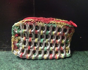 Pop tab coin purse