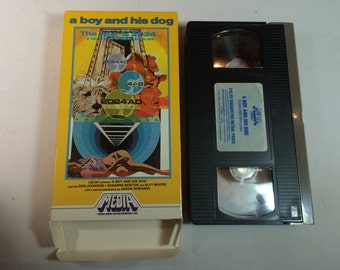 A Boy and His Dog Don Johnson Jason Robards vhs MEDIA ENTERTAINMENT 1982 R 89 MINS