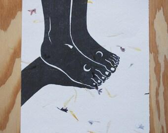 Drawing ,Woman Art, Ink Art , Art Print, Black and White Art, Black and White Print, Black and White Art Print