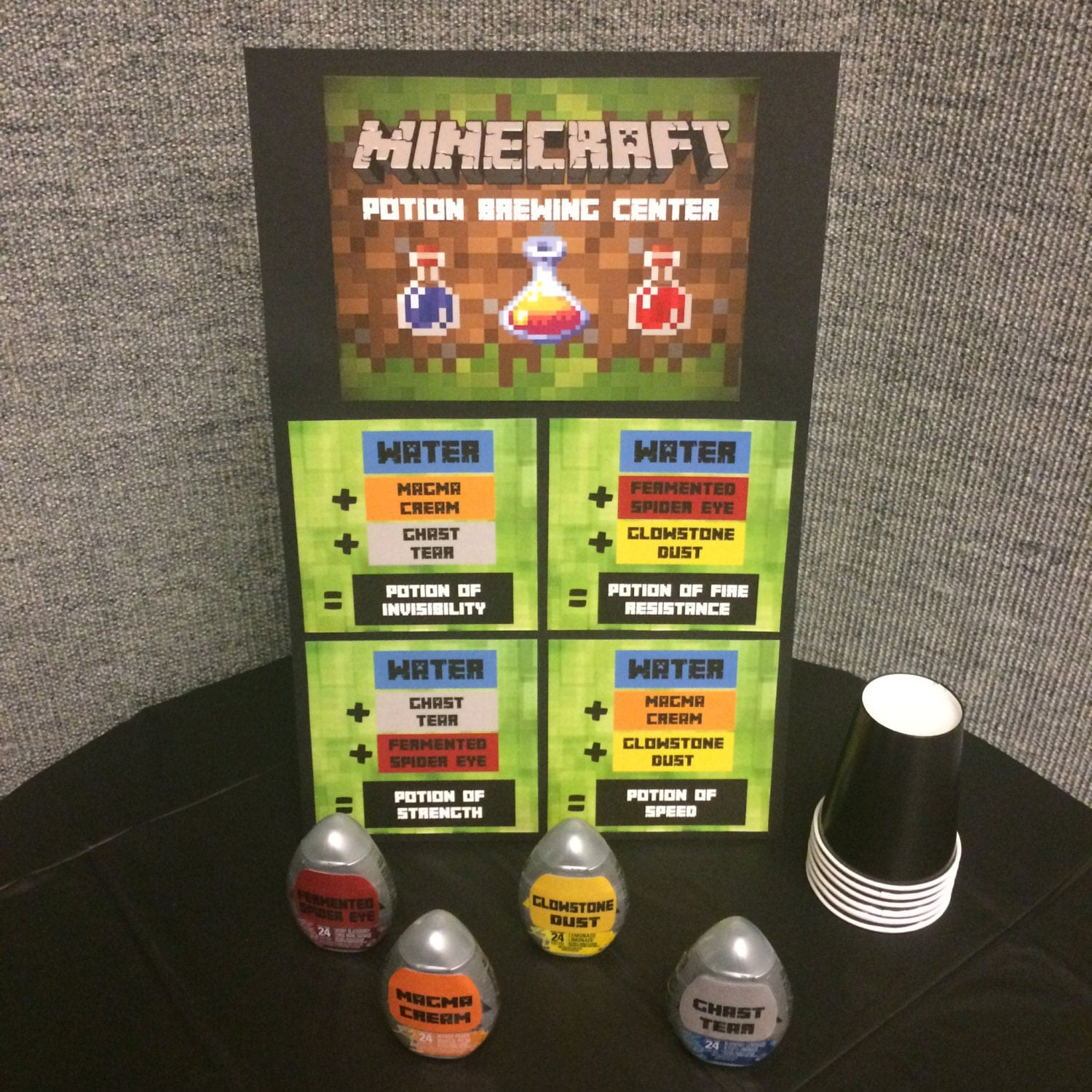 Minecraft Potion Brewing Station Digital By