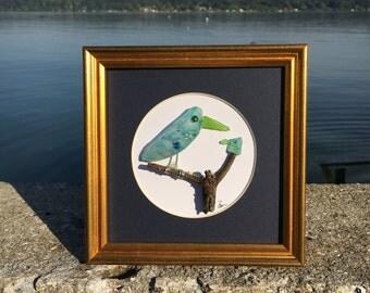 Fancy Blue Birds
