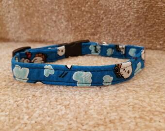 Snoopy dog collar medium