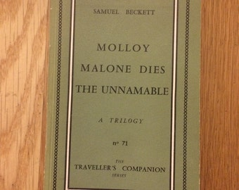 RARE EDITION Molloy Trilogy by Samuel Beckett