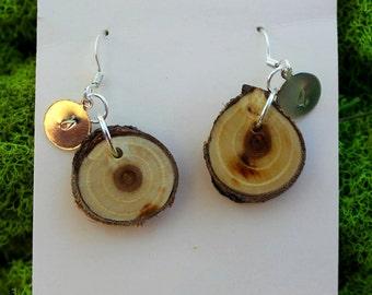 Russian Olive Wood Earrings 15
