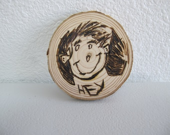 Wood Coasters with images