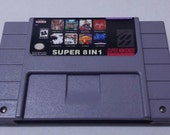 Super 8 in 1 collection SNES Super Nintendo Chrono Trigger, Final Fantasy, Dragon Quest, EarthBoubnd, Secret of Mana 2,Fire Emblem featured image