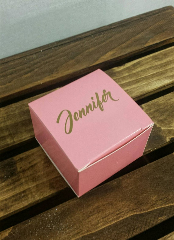 bridesmaid gift box personalized gift box party favor. Black Bedroom Furniture Sets. Home Design Ideas
