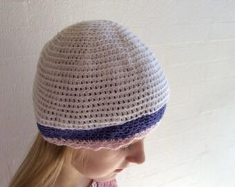Crochet hat for girl or boy