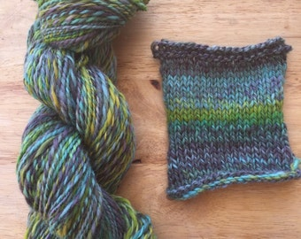 "Handspun Yarn ""Sea Breeze"""