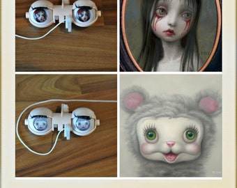 Blythe Doll Eye Chips Mark Ryden Collection