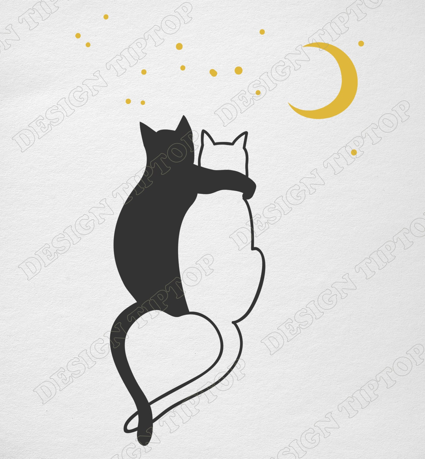 cats love svg dxf png cricut silhouette cat shirt