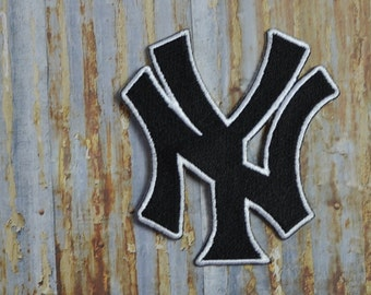 NY Baseball Game Sport Iconic  Iron On Sew On Patch Transfer
