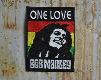 Reggae Marley Dreadlock Music Band Embroidered Iron On Or Sew On Patch