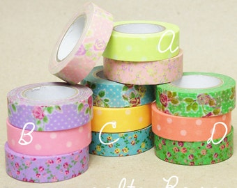 COLTE Rose Washi Tape SET Japanese MT Masking Tape out of production