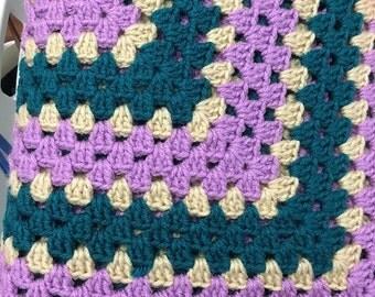 """Handmade 52"""" Afghan Blanket"""