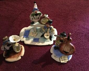 A Zampiva original glazed ceramic clown band