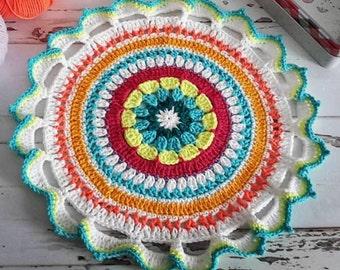 Crochet Mandala Table Mats