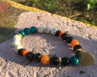 Sunburst Pendant Bracelets