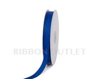 "5/8"" Royal Blue Grosgrain Ribbon 50 Yards Per Roll"