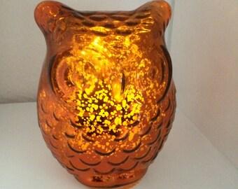 Owl LED Candle-Light