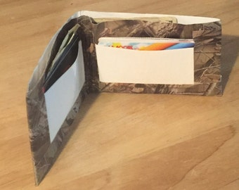 Handmade Duct Tape Wallets