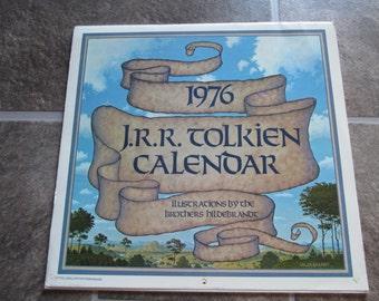 1976 Tolkien calendar, Hildebrandt illustrations, Tolkien collectors