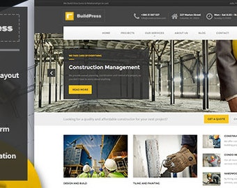Construction Business HTML Template