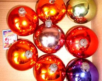 Soviet Christmas Ornament Glass Christmas Ornament Tree Decoration - Balls