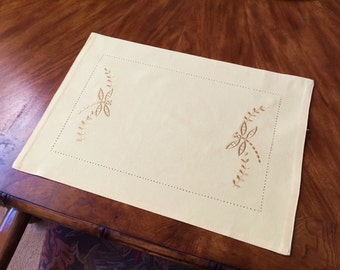 Embroidered Firefly Placemats [Set of 4]