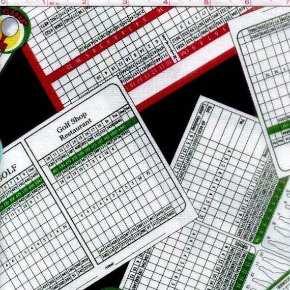 Windham Hole In One Golf Score Cards 100 Cotton 43
