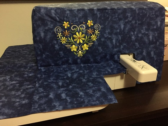 pattern for embroidery machine cover