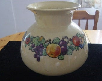"""large bulbous vase """"omar ware"""" by keele street pottery 1950s"""