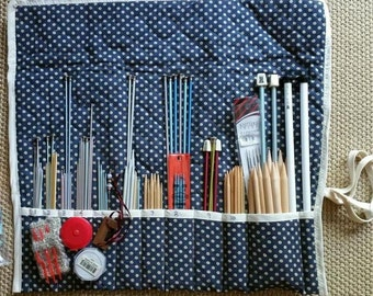 Assorted Needles, Case and Bonus Project Tote