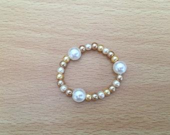 Infant Bracelet, Pearl Bracelet, Keepsake, Baby Gift
