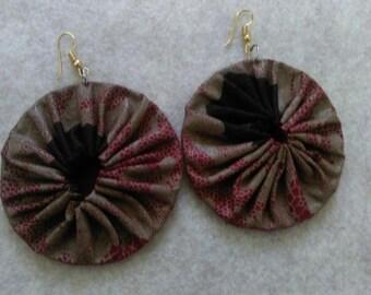 Brown maxi Earrings