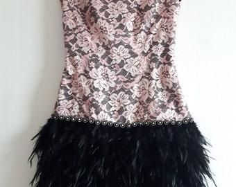 Vintage 90s flapper dress