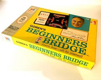 Vintage Beginners Bridge Milton Bradley Game. Chase H Goren Teaches Bridge