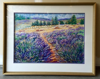 Lavender Fields / SOLD!