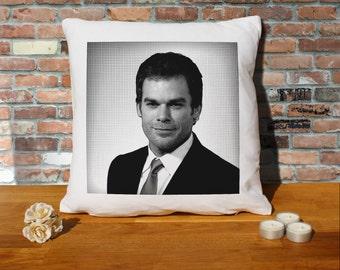 Michael C Hall Cushion Pillow - Pop Art - 100% cotton - 16x16 inches