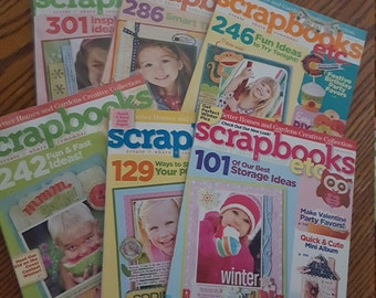 Scrapbook, etc issues from 2010, COMPLETE set
