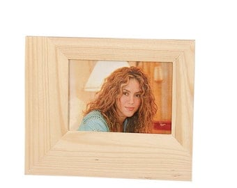 Picture frame for decoupage,