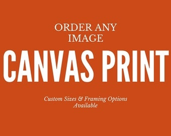 Any Image - Print on Canvas